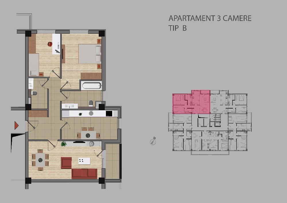 Colina insorita Iasi - Apartamente noi in Pacurari